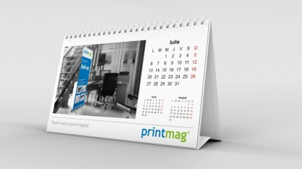 Calendar birou personalizat