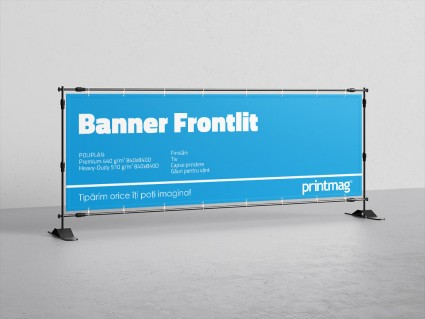 Banner frontlit poliplan