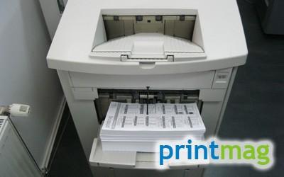 printare alb-negru
