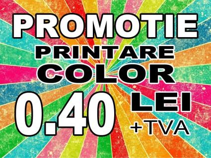 Print color - PROMOTIE