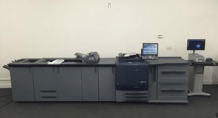 Tipar digital - Konica Minolta C7000