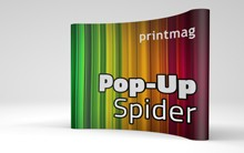 Pop-Up Spider Display