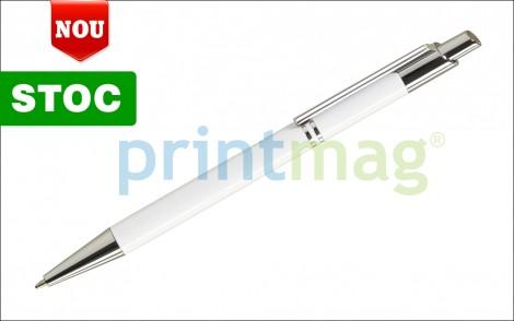 Pix metalic personalizat STYLE White